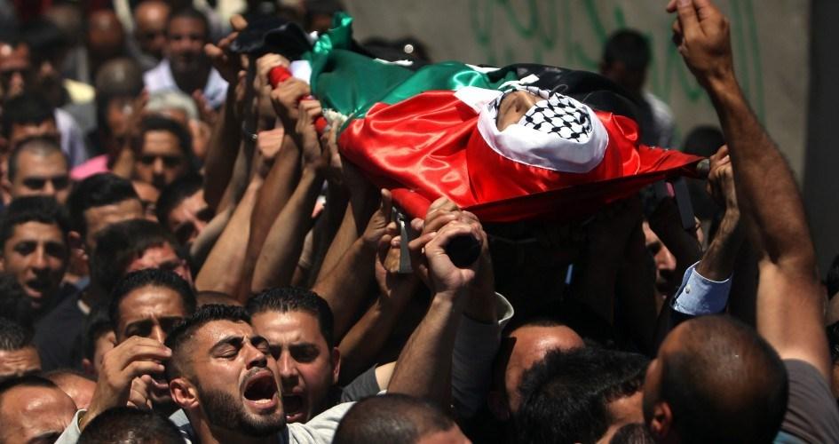 شهادت فلسطینیان