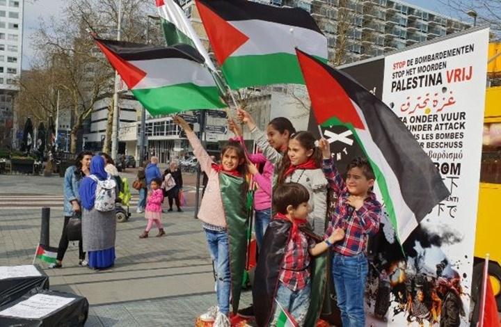 تجمعات همبستگی با فلسطینیان در  قاره اروپا