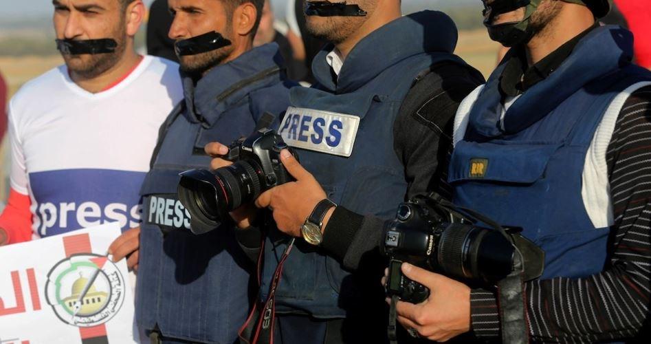 خبرنگار فلسطینی